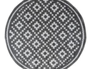 Στρογγυλό Χαλί All Season (Φ160) Ezzo Chroma B528BJ8 D.Grey/L.Grey