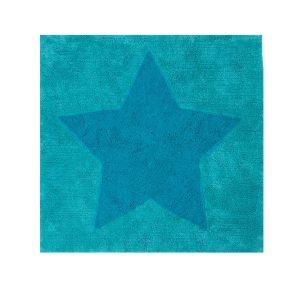 Παιδικό Χαλί 120X120 Nef Nef Junior Star Aqua