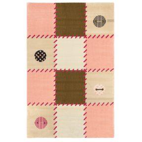 Παιδικό Χαλί 115X175 Saint Clair Patchwork Pink