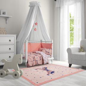 Παιδικό Χαλί 110×160 Greenwich Polo Club Essential 3007 Ροζ-Μωβ